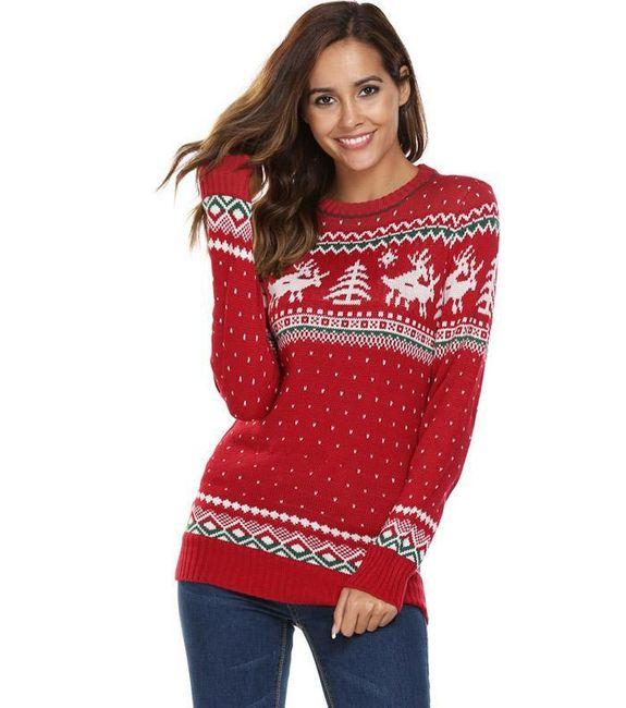 Женский свитер Cхеситй 1