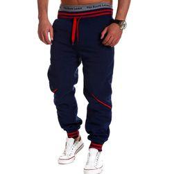 Męskie wygodne spodnie dresowe w modnym wykonaniu