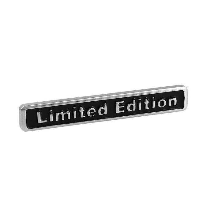 3D metalna nalepnica za auto - Limited Edition 1