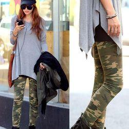 Női leggings katonai mintával