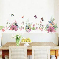Zidna nalepnica - pozadina cvetne livade