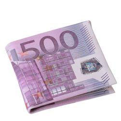 Muški novčanik sa motivima novčanica - 2  varijante