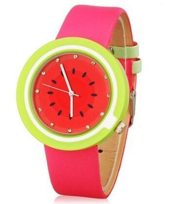 Hodinky v designu vodního melounu 1