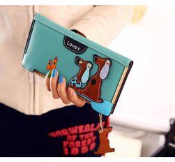 Dámský peněženka s pejsky - 6 barev