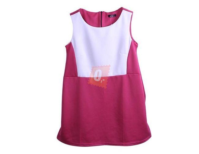 Dámské společenské šaty bez rukávů - vel. L 1