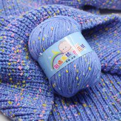 Мек памук за плетене - повече цветове