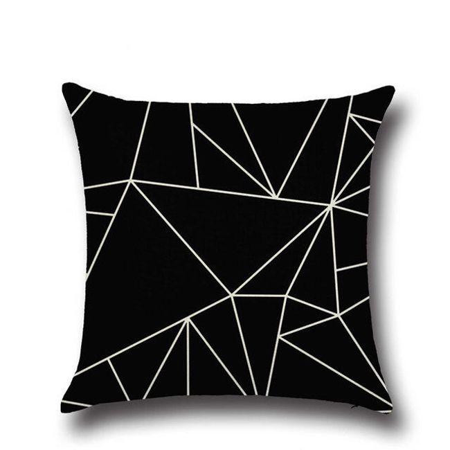 Povlak na polštář - geometrické motivy 1