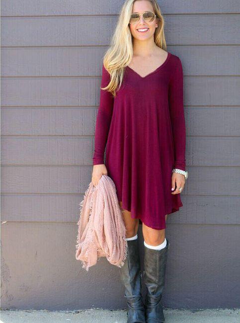 Asymetrické šaty - více variant 1