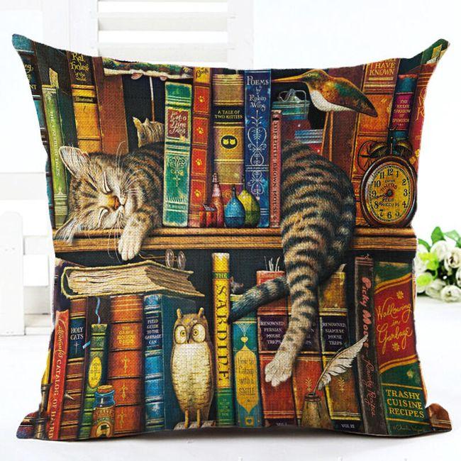 Navlaka za jastuk sa mačkama - 7 varijanti 1