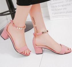 Дамски обувки с токче Valka