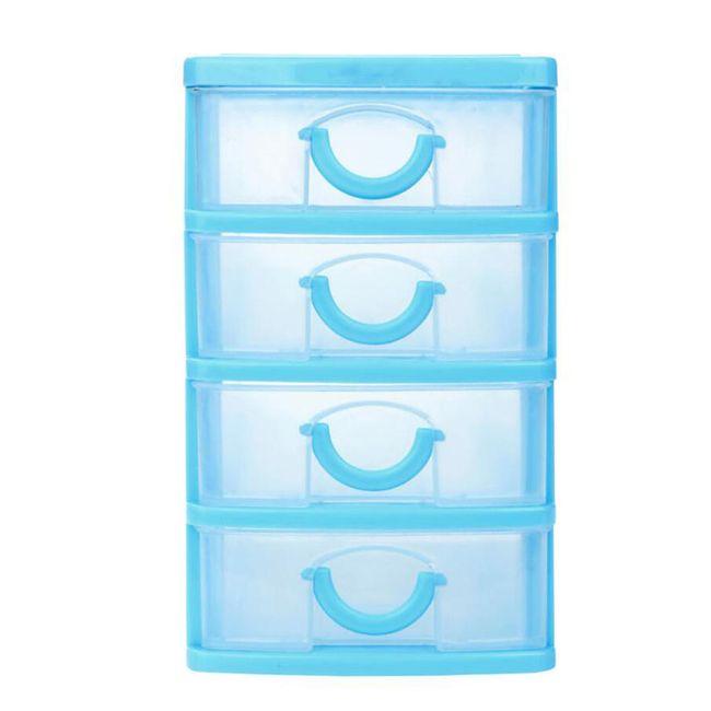 Praktické úložné zásuvky - 4 barvy/4 velikosti 1