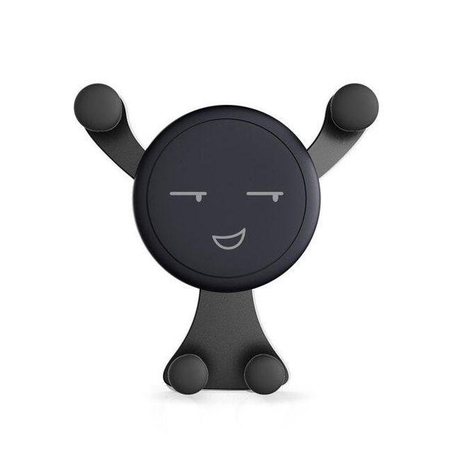 Magnetický držák na mobilní telefon do auta - Černá 1