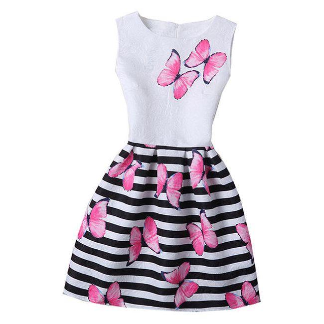 Dívčí šaty - 21 variant 1