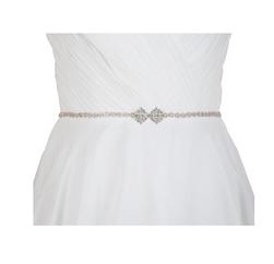 Dekoratív pánt ruha Bow