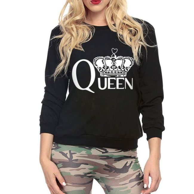 Mikina pro královny - 3 barvy 1