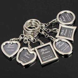 Privezak za ključeve sa ramom za fotku