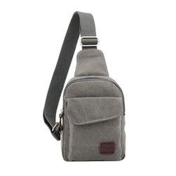 Pánská jednobarevná taška přes rameno