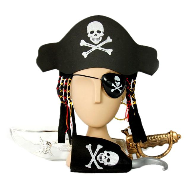 Pirátský kostým na maškarní 1