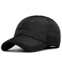 Ocieplana męska czapka
