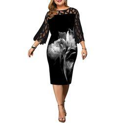Dámské šaty plus size Bekka