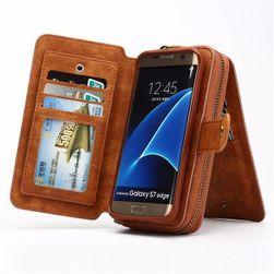 Pénztárca tokkal a Samsung Galaxy s7 éléhez - 3 szín