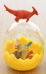 Набор ластика в форме динозавра