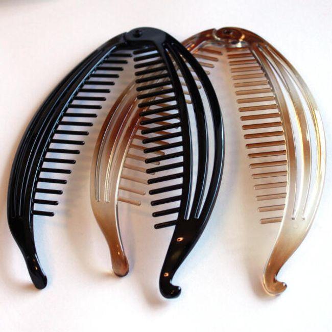 Šnala za kosu u obliku banane 1