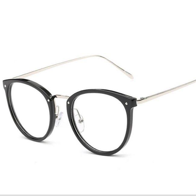 Dámské brýle s průhlednými sklíčky 1