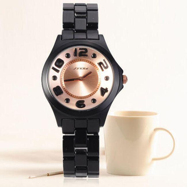 Dámské hodinky SINOBI s výrazným ciferníkem - 2 barvy 1