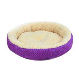 Круглый лежак для собак