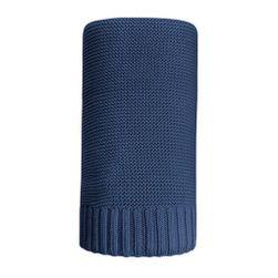 Bambusová pletená deka  100x80 cm tmavě RW_45096