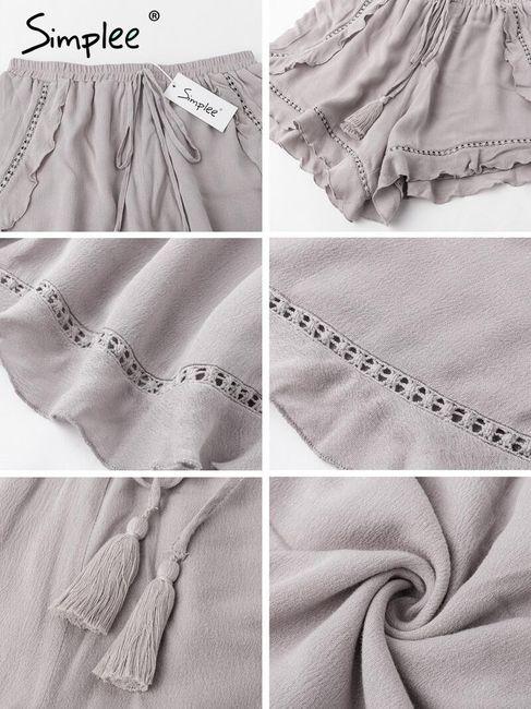 Széles rövidnadrág - Többféle változatok