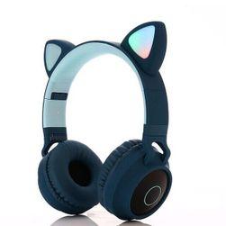 Słuchawki z kocimi uszami Lidia