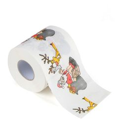 Hârtie igienică cu motive de Crăciun Vp4