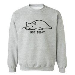 Erkek sweatshirt Not Today