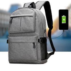 Nepromokavý batoh na notebook (s USB vstupem)