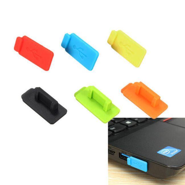 Protecția împotriva prafului pentru conectorul USB 1