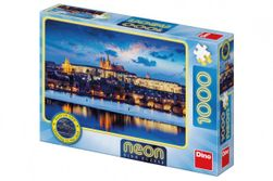 Puzzle Pražský hrad svítící ve tmě 1000 dílků 66x47cm v krabici 32x23x7cm RM_21541276