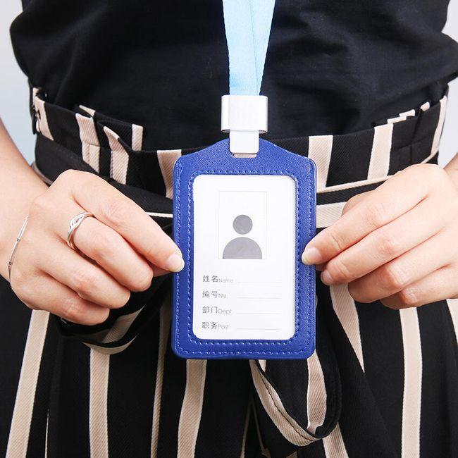 Visačka na identifikační kartu - 4 kusy 1