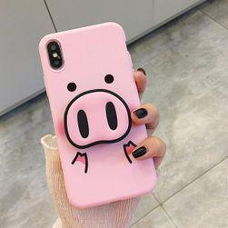 Etui na iPhone 6/7/8/X Piggy