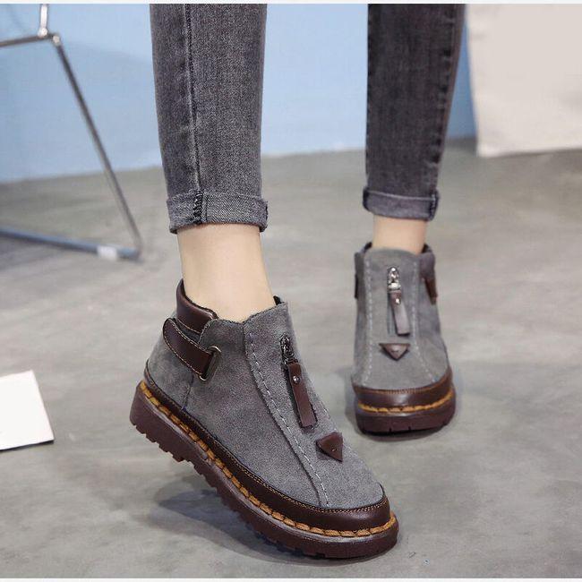 Dámské zimní boty Quena 1