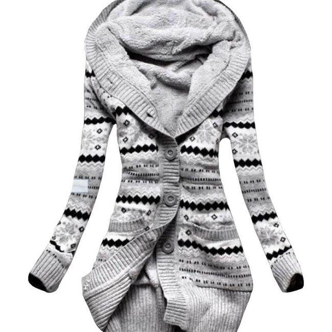 Topli dugački džemper 1