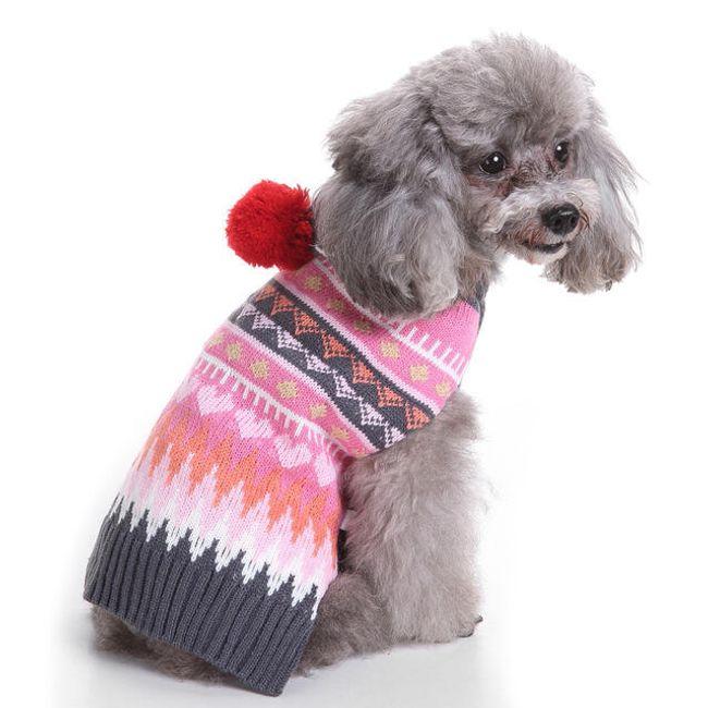 Zimní svetr pro pejsky 1