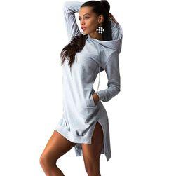 Damska bluzowa sukienka DS46