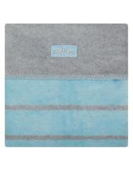Dětská bavlněná deka  75x100 šedo RW_15973