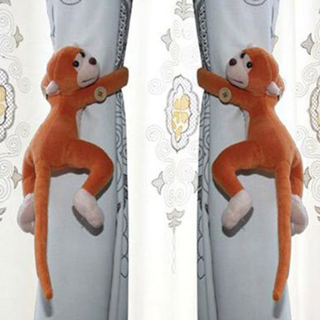 2 sztuki małpek na zasłonki  1