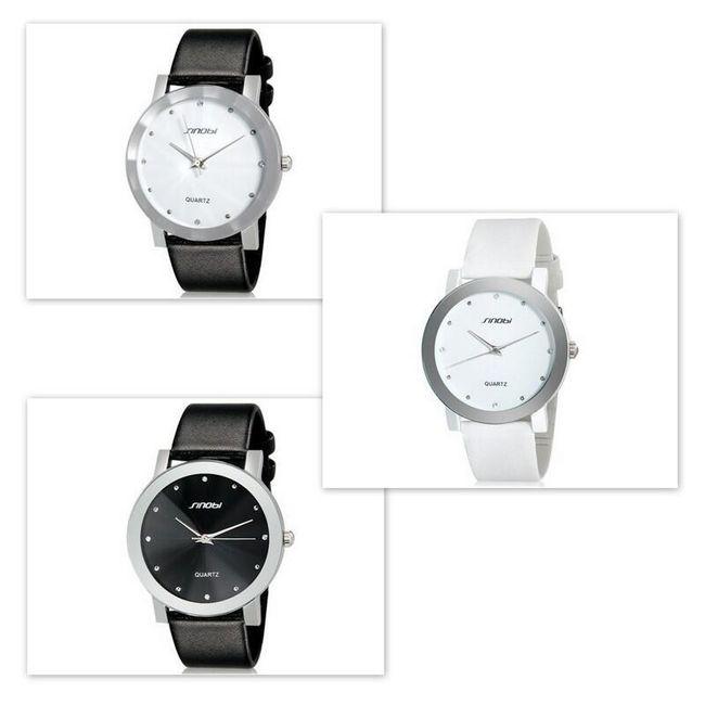 Pánské elegantní hodinky SINOBI ve 3 barevných provedeních 1