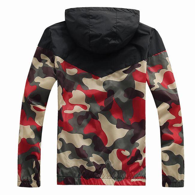 Férfi őszi kabát - katonai