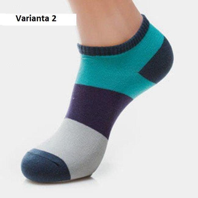 Férfi boka zokni  különböző színekben
