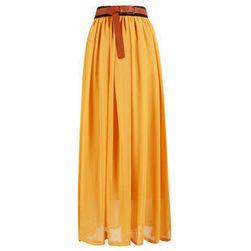 Lagana jednobojna suknja - više boja